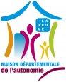 Logo maison départementale de l'autonomie
